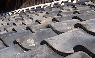 屋根部材の割れ・欠け修理の写真